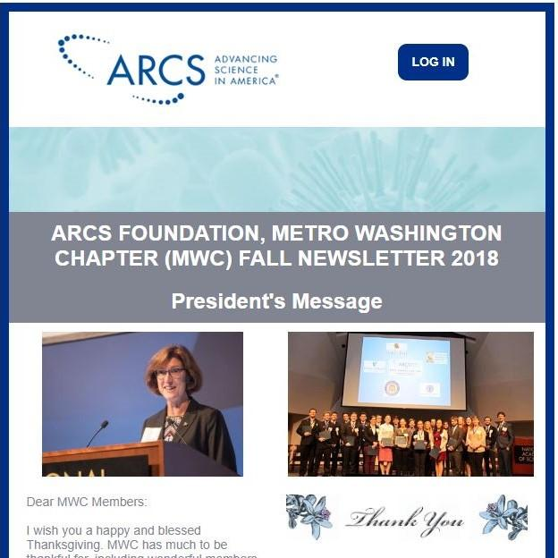 Fall 2018 Newsletter